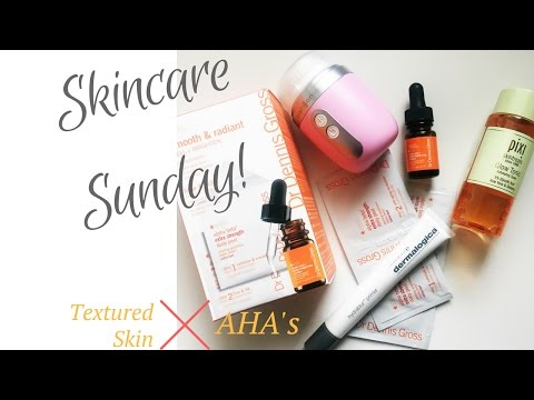 How to treat textured skin & AHAs || Skincare Sundays - Elle Leary Artistry