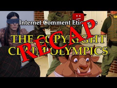 Copyright Claim Olympics Recap
