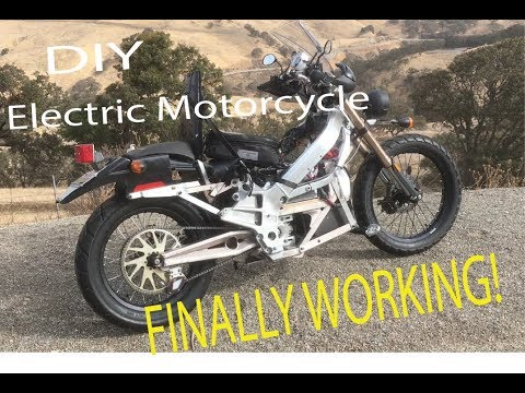 DIY Electric Motorcycle FINALLY WORKING!