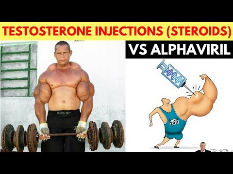 💪 Difference Between Testosterone Injections and AlphaViril