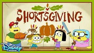 Shortsgiving 🦃  | Compilation | Big City Greens | Disney Channel