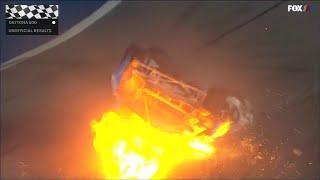 Ryan Newman sent to hospital after Daytona 500 crash
