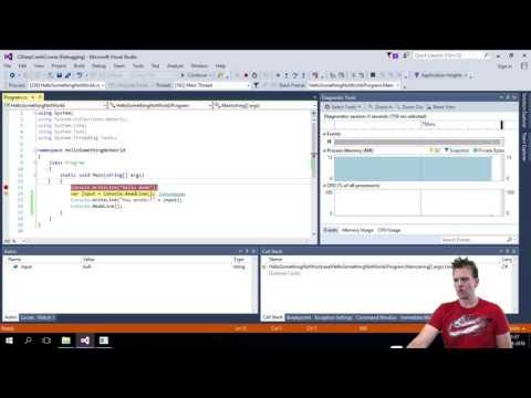 How to Debug in Visual Studio
