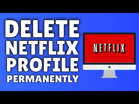 How To DELETE A Netflix Profile | Delete A Profile On Netflix PERMANENTLY!