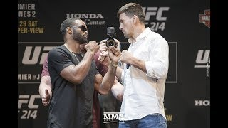UFC 214: Tyron Woodley vs. Demian Maia Staredown - MMA Fighting