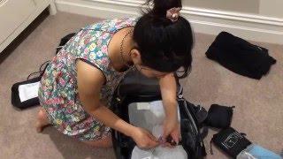 打包行李技巧: 如何在8公斤內打包一年長途旅行手提行李?