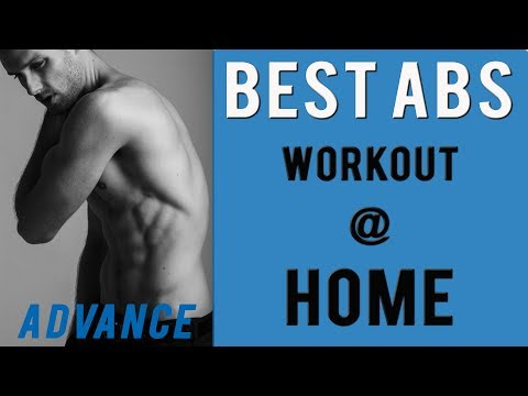 Best Abs Workout At Home For Men 2018 - Male Model Workout
