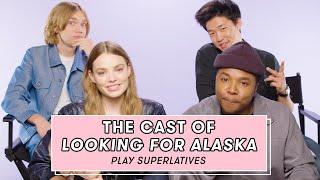 The Cast of Looking For Alaska Plays Superlatives   Superlative Challenge