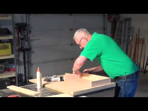 Building A Simple Cabinet Drawer