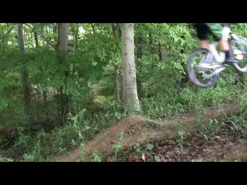 Hitting MTB dirt drop!