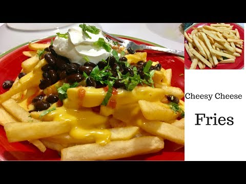 Cheese Fries   Aloo Fry with Cheese  #Ramadan