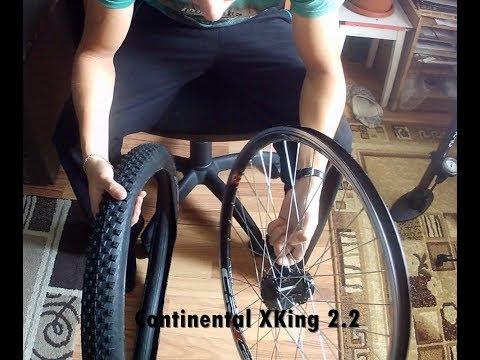 Continental X-King külső felrakása!
