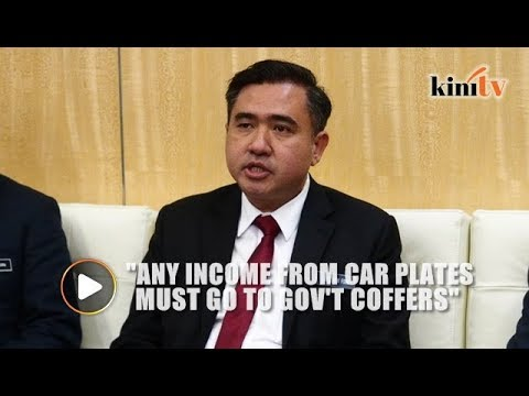 Minister: No more outsourcing of rights to sell car registration plates to NGOs