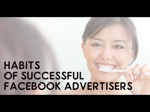 Good Facebook Advertising Habits to get into when managing Facebook Ads