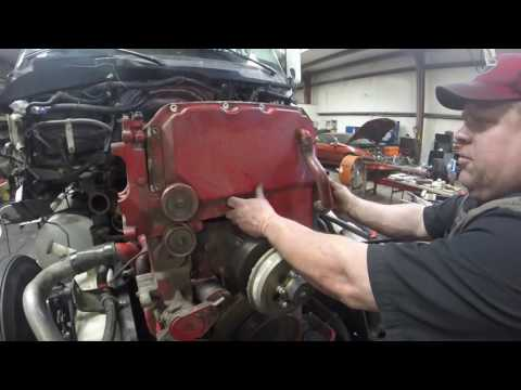 ISX Engine re build PT18 front cam gears by Rawze