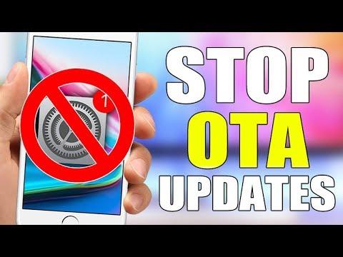 Disable Automatic OTA iOS Updates On Your iPhone - iOS 11 / iOS 10