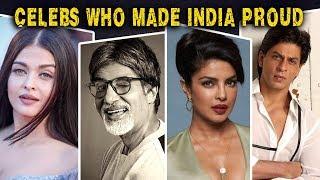 Bollywood Stars Who Made India Proud | Shah Rukh Khan, Priyanka Chopra, Amitabh Bachchan, Dia Mirza