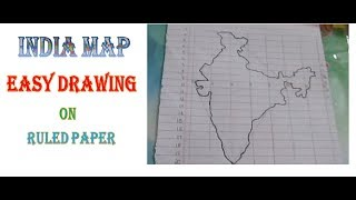 How To Draw States Of Indiafor School Children Vishnu Haridass A5wfx