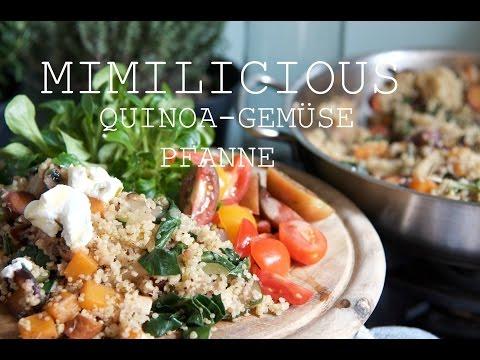 Quinoa-Gemüse Pfanne (Glutenfrei, Laktosefei, Histaminarm)