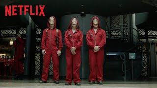 Money Heist - Part 2   Official Trailer   Netflix