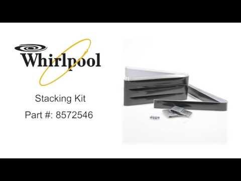 Whirlpool Stacking Kit Part #: 8572546