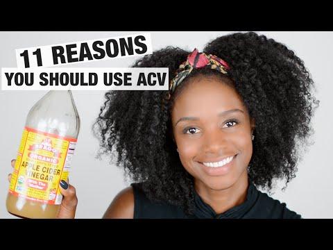 Natural hair regimen: 11 reasons to use APPLE CIDER VINEGAR