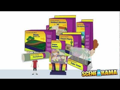This Is Scene-A-Rama - School Project Diorama Tutorial