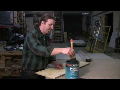 Home Repair & Power Tools : How to Apply Varnish