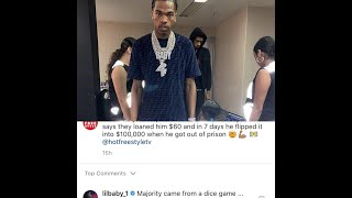 Lil Baby Explains Exactly How He Flipped $60 Into $100K