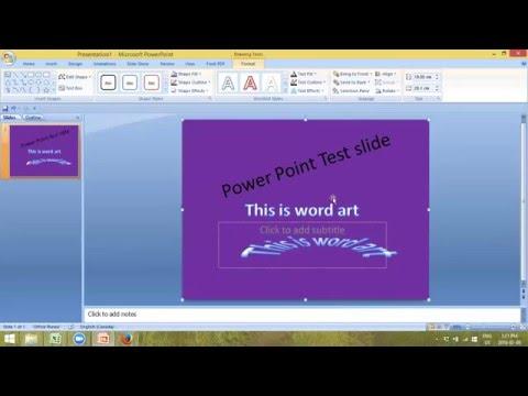 Making Slides in Powerpoint