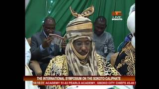 Int. Symposium To Recap Role Played By  The Sokoto Caliphate 03/11/16