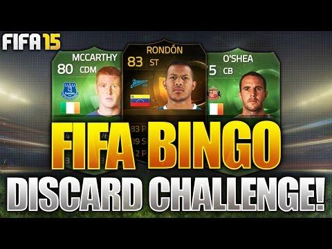FIFA BINGO!!! FULL GREEN TEAM & INFORM DISCARD CHALLENGE!!! Fifa 15 Discard Pack Opening