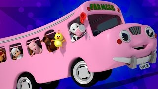 ruote del bus | canzoni per bambini | bambino rima | Wheels On The Bus | Nursery Rhymes | Baby Rhyme