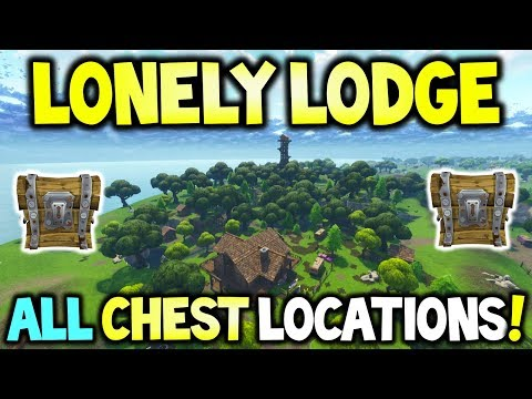 LONELY LODGE ALL CHEST LOCATIONS