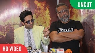 UNCUT - Special Event of Article 15 | Ayushmann Khurrana And Anubhav Sinha