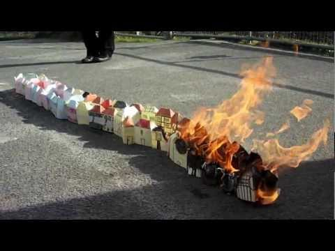 Setting the Great Fire of London in school!