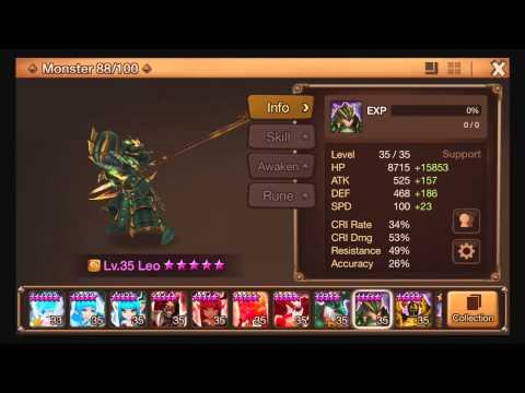 Summoners War, Awakening Wind Dragon Knight (Leo)