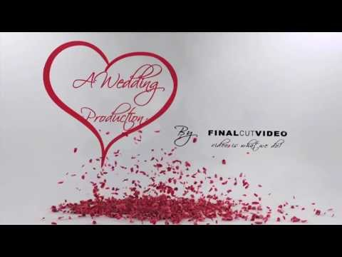 After Effects Wedding Intro