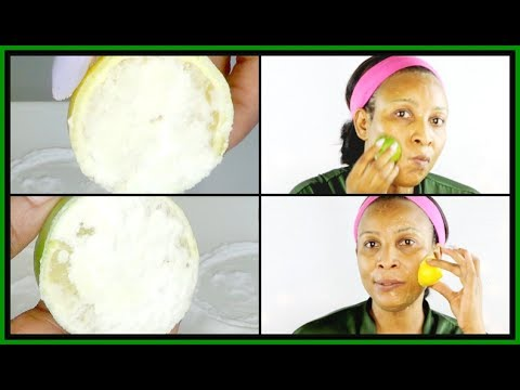WHICH WORKS BEST | LEMON AND BAKING SODA OR LIME AND BAKING SODA |FACIAL Scrub |Khichi Beauty