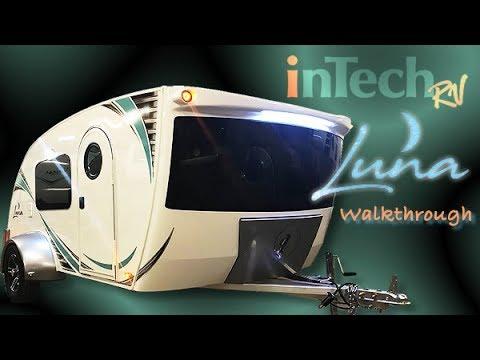 InTech Luna Teardrop Trailer Walkthrough with Princess Craft RV