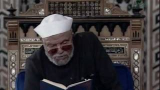 دعاء الشعراوى للمسلمين فى نهاية سورة القمر