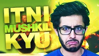 CARRYMINATI PLAYS GETTING OVER IT | ITNE MUSKIL KYU?