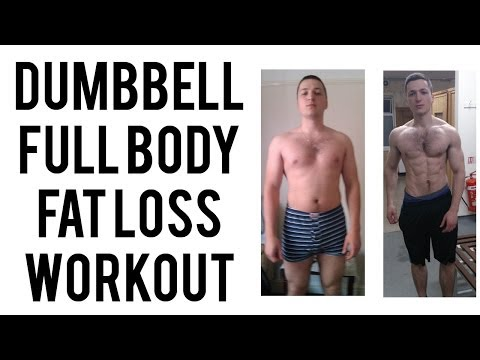 Home Dumbbell Full Body Workout For Fat Loss and Lean Body