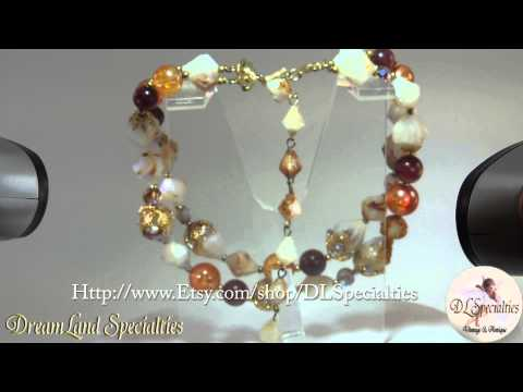Deauville Shell Necklace Spring Summer Vintage Special