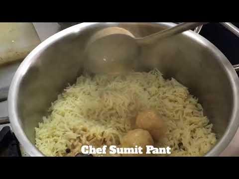 Gushtaba Ke Biryani || ihm Second year kitchen || Bcihmct || innovative food|Basic Training kitchen