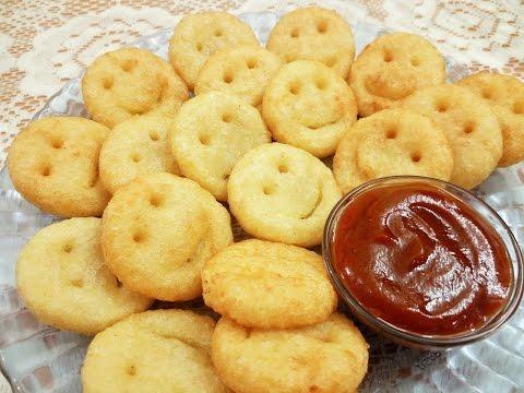 Potato Smileys / Mc Potato Smileys - By Food Connection
