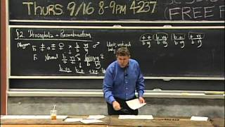 Linkage and Recombination, Genetic maps | MIT 7.01SC Fundamentals of Biology