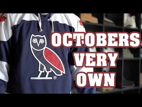 OVO Team Hockey Jersey, Pin, & Owl Tee Review + On Body