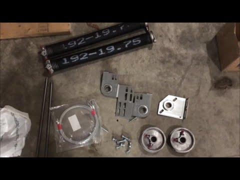 I-Drive / TorqueMaster to Torsion Spring Conversion - DIY Tutorial