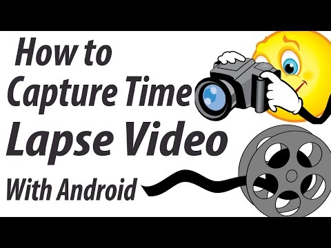 How to capture time lapse video with Android